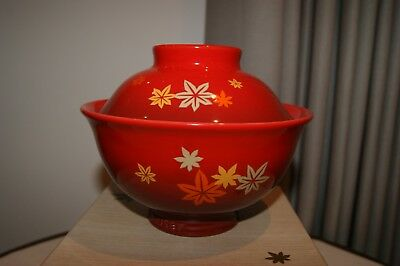 Le Creuset Stoneware 25 Anniversary Limited Japanese Domburi Bowl - Red