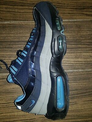Genuine Nike Air Max 95 Men's Blue Trainers Size UK 7