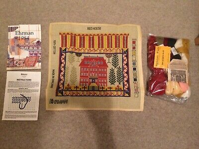 Erhman Tapestry Kit- The Red House 1984 - The Embroiderers Guild
