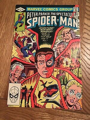 Marvel Comic Peter Parker The Spectacular Spider-man 67 1982