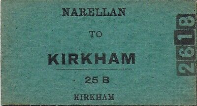 Railway tickets a trip from Narellan to Kirkham by the old NSWGR