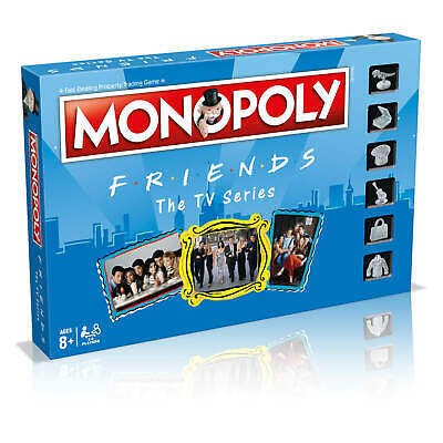Friends Tv Show Monopoly Board Game Brand New Sealed