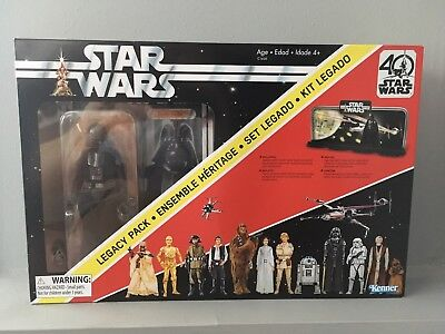 "NEW - Star Wars Darth Vader 6"" Black Series 40th Anniversary Legacy Pack"