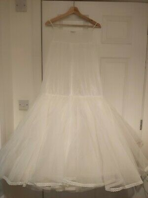 Jupon Fishtail wedding dress Underskirt With Hoop Small size 8/10