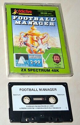 FOOTBALL MANAGER by PRISM - SINCLAIR ZX SPECTRUM