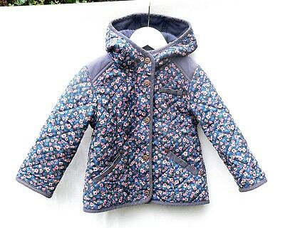 Next Girls Floral Quilted Jacket - 1 1/2 -2 Years - Autumn - Floral