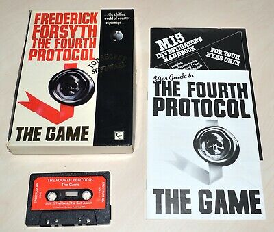 THE FOURTH PROTOCOL (ADVENTURE) by HUTCHINSON - SINCLAIR ZX SPECTRUM