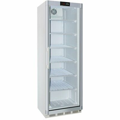 Commercial Freezer Upright cabinet White 361 litres Single glass door