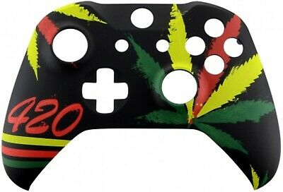 Xbox One Controller Custom Leaf 420 Replacement Front Shell Face-Plate