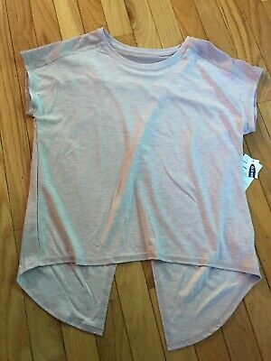 Old Navy Active Girl's Top Size 14 Lilac SS Athletic NWT