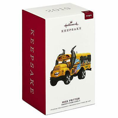 2019 Hallmark Disney's Cars Miss Fritter Magic Ornament New In Box
