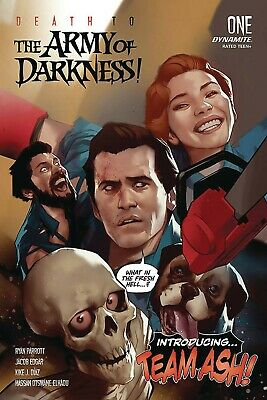 Death To Army Of Darkness #1 Cvr A Oliver Dynamite 2/19/2020 Rb03