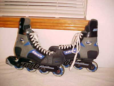 Mens Bauer NHL Breakout 60 TUUK Competition Roller Inline Hockey Skates, Size 11