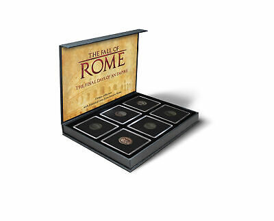Ancient Roman Coins Six Genuine Collectable Antiquities Fall of Rome Empire