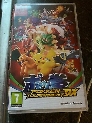 Pokken Tournament DX Nintendo Switch Pokemon Pikachu Game Ages 7