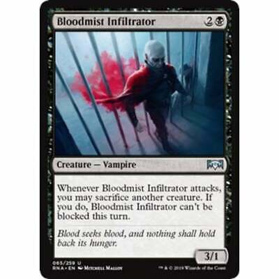 MESMERIZING BENTHID X4 Ravnica Allegiance RNA Magic Magic the gathering Comme neuf CARD
