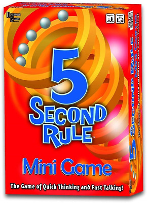 5 Second Rule Mini Game Red Pack of 1