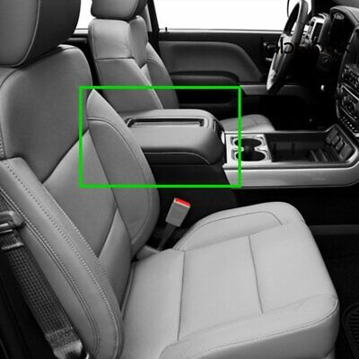 Front Center Console Armrest Lid Assembly for Chevy GMC Silverado Sierra 2007-14