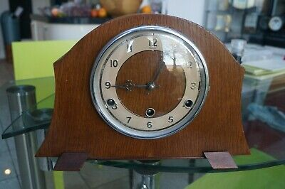Andrews lever escapement Westminster chime mantel clock