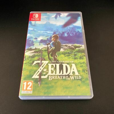 No Game - Legend Of Zelda Breath Of The Wild - Nintendo Switch Official Case Box