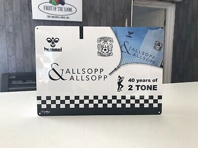COVENTRY CITY FC METAL SIGN Football Man Cave Memorabilia Plaque A4 Approx.