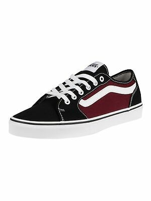 VANS MEN'S FILMORE Decon Canvas Trainers, Black EUR 49,41