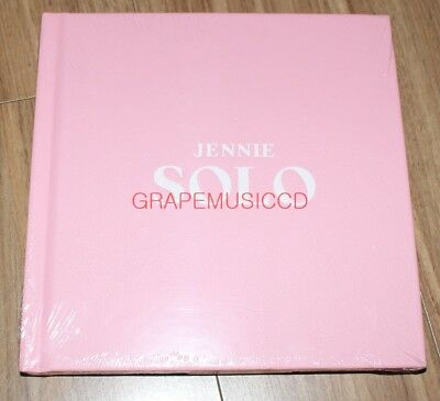 Jennie Blackpink Solo Photobook + Cd + Photocard + Poster In Tube Case Sealed