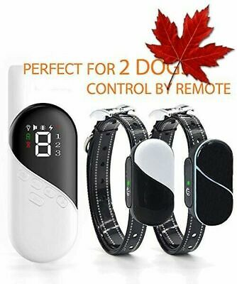 Dog Training Collar with Remote - Rechargeable & Waterproof Dog Shock Collar ...