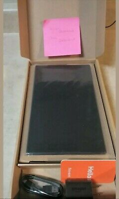 "Black 32GB Amazon Fire HD 10 Tablet 10.1"" 9th Gen (New 2019) w/Special Offers"