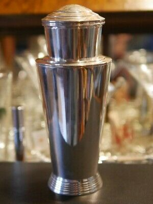 ART DECO Silver Plate Cocktail Shaker