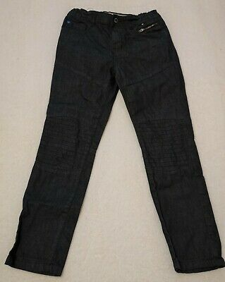 Boys Charcoal Black Denim Jeans 10-11 years Adjustable Waist Wore Once