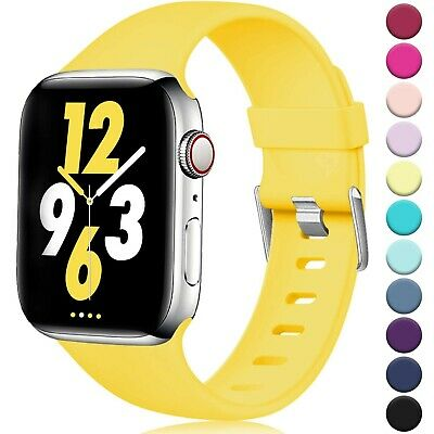 Laffav Compatible with Apple Watch Band 40mm 38mm 44mm 42mm for Women/Men, So...