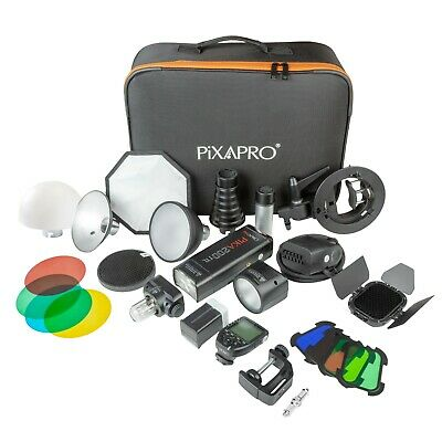 Portable Battery Powered TTL Mini Flash Complete Kit Photography (Sony)