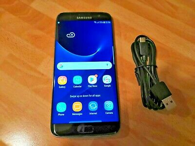 Samsung Galaxy S7 Edge SM-G935D 32GB Black (Unlocked) Smartphone