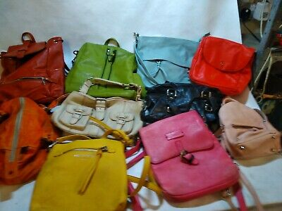Job Lot Leather Handbag x10