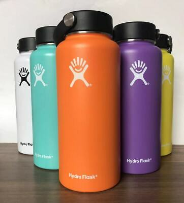 Hydro Flask Water Bottle - 32OZ Stainless Steel & Vacuum Insulated_ Flex Cap