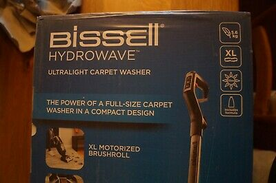 New Bissell HydroWave 2571E Carpet Cleaner