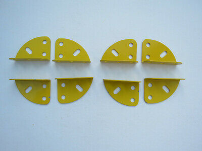 """MECCANO COMPATIBLE ARGENTINE MANUFACTURED 8/"""" DIAMETER FLAT RINGS IN BLUE"""