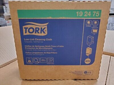NEW 100-Pk Tork® Low-Lint Cleaning Cloths 192475 SHIPS PRIORITY TODAY