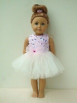 American Girl Our Generation Pink Unicorn Ballet Tutu 18 Inch Doll Clothes