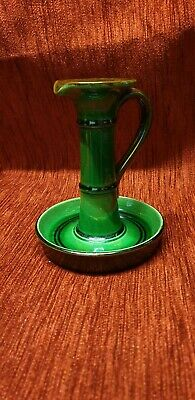 Arts and Crafts c1900 Watcombe Pottery Candlestick - Dresser