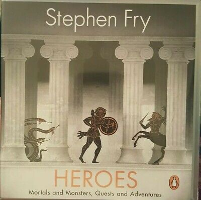 Heroes : Mortals and Monsters, Quests and Adventures, CD/Spoken Word by Fry, ...