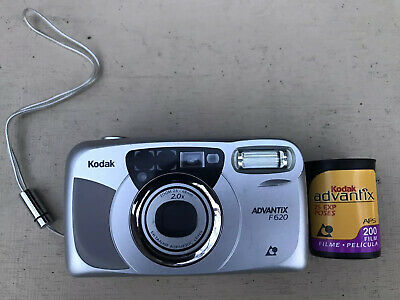 KODAK Advantix F620 APS Camera + 1 Roll Of Expired ISO 200 25 Exposure Film