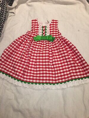 Spanish Girls Dress Summer Age 7-8 Small Fit
