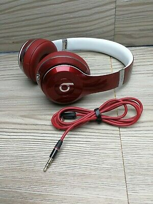 Beats by Dr. Dre ML9G2ZM/A Solo 2 Headphones - Luxe Red