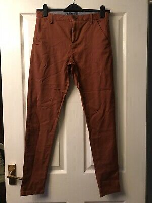 NEXT Boys Chinos Age 14 Reddish Brown BNWT