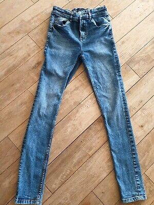 Next Boys Jeans Super Skinny Age 14 LONG leg