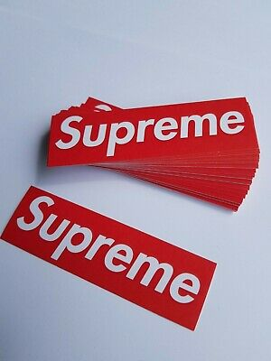 100 Supreme Stickers Red Hypebeast Pack