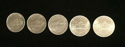United States, 5 X  5 Cents, Jefferson Nickels - 1984 to 2002