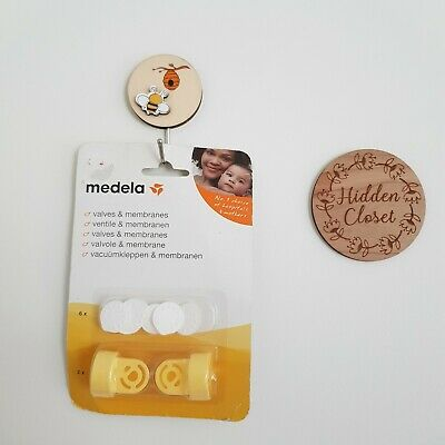 Brand New Medela Breast Pump Replacement Valves & Membranes